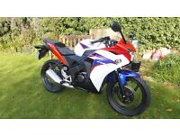 Honda CBR 125, excellent condition, free delivery & warranty