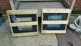 Triple glazed x 2 small skylIghts