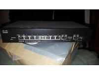 cisco sf302-08 8 port 10/100 managed switch
