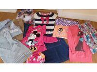 Girls tops, skirt, jeans. 8-9 years