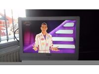 """19 """" technica lcd tv / dvd combo in great condition"""