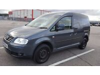 Volkswagen Caddy 2010 TDI 1.9 Diesel,ONLY 44K, HPI clear, 1 owner,service his, AC,NO VAT