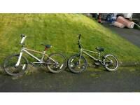 Bmx bikes, not mountain bikes cycling