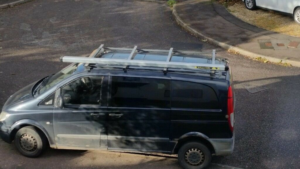 Vanguard Roof Rack and Bars for Mercedes Vito W636