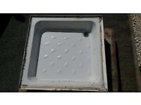 White cement shower tray - free to collector