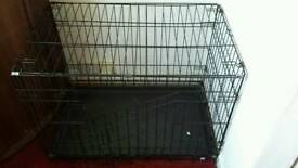Medium size dog crate for sale