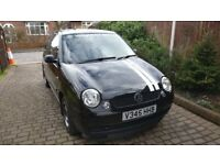 VW lupo 1.4 16v Black with low 78,000 miles genuine.