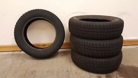 4 Continental Winter Tyres 175 65 R15