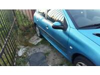 Peugeot 206 spares and repair