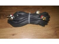 VIBE GOLD PLATED RCA CABLE