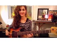 Guitar & Bass Teacher (Music lessons for students of any age)!