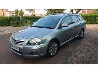 Toyota Avensis Estate TR With full Toyota dealership service history. Blue tooth kit for phone.