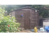 8ft x 10ft wooden garden shed for sale £150 ...SOLD