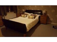 John Lewis Sleigh Bed bedframe