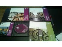 Italian language course books ( intermediate) with DVD- ROM by The Open University