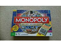Monopoly here and now: world edition