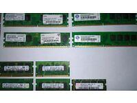 assortment of RAM
