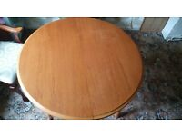 Solid hard wood dining table cheap for quick sale