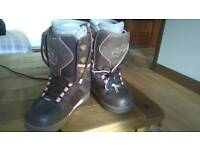 "Ladies ""thirtytwo"" snowboard boots UK 5 (worn once)"