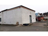 Warehouse Storage Workshop Area Available in Clydebank , Glasgow. Various Uses £500p/m