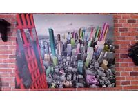 New York wall canvas picture