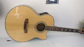 Stunning Cort CJ10X/12 12 string electric acoustic