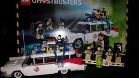 Lego Ghostbusters ecto1 with slimer
