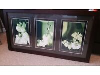 Large Approx 3Ft Wide Stunning Framed 3 pictures Collect Bispham, Nr Blackpool