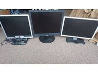 PC Monitors - 3 for £10