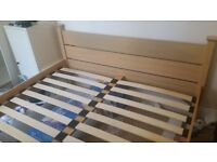 Ikea King size bed frame