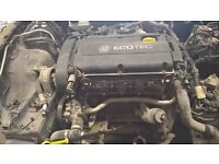 VAUXHALL ASTRA 1.6 16V Z16XEP TWINPORT ENGINE and ancillaries