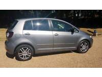 VW golf plus bluemotion tdi 1.6 fsh £30 a year tax manual cheap car Kent bargain diesel