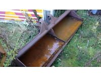 JCB 3cx ditching bucket, tractor