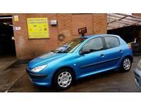 2001 Peugeot 206 1.9 Diesel - 3 Months Warranty