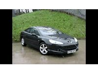 peugeot 407 coupe 2.2 se only 56000 miles
