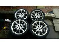 Insignia bmw 5x120 pcd alloy wheels 18s