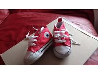 Baby Converse First Red Star