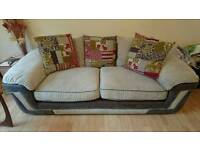 2x 3 seater sofas excellent condition