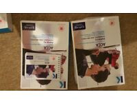 Kaplan Acca P1, P2 and P3 books, notes, questions