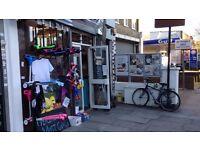 Urgent Cafe & Toys Shop for Sale or Rent