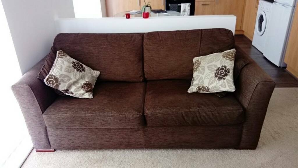 Furniture Village 3 Seater Sofa Bed In Liverpool