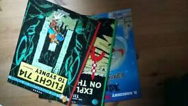 Hergé The Adventures of Tintin & Asterix Books
