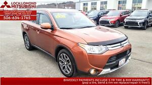 2015 Mitsubishi Outlander GT SUPER AWC - loaded for only $240 BW