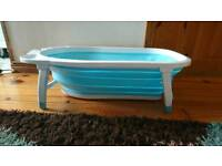 Fold away baby bath excellent for easy storage