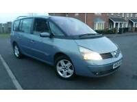 2005 (05 REG) RENAULT GRAND ESPACE, 2.2 DCI, 7 SEATER, AUTO, FULL PANORAMIC ROOF, ONLY 71K