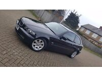 2002 (52) BMW 3 SERIES E46 316ti SE 1.8L PETROL MANUAL 3DR COMPACT MOT APR 17 HPI CLEAR SUPERB DRIVE