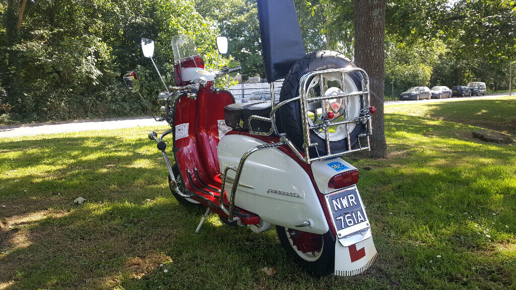 Lambretta Li125 Series 3 1963 Mod Scooter - 200cc Barrel Kit | in Exeter,  Devon | Gumtree