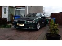 bmw e36 touring 316iSE auto LPG with new wheels £1200 without wheels £650 ono needs mot