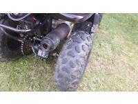 50cc quad 4 stroke eletric