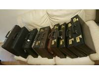 12X BRIEFCASE JOB LOT